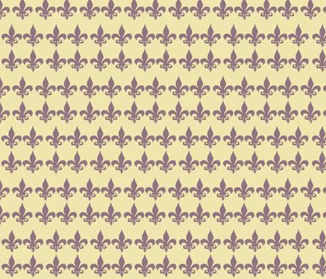 Fleur de Lis fabric by ascaliers on Spoonflower - custom fabric