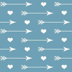 Hearts And Arrows Deep Dusk