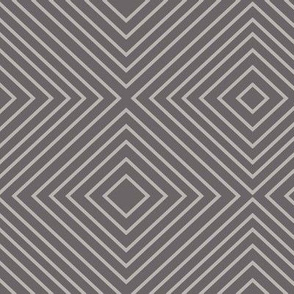 Squares - Gray on Gray