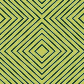 Squares - Green&Navy