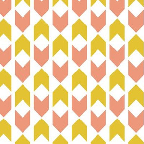 Candy & Gold Chevron