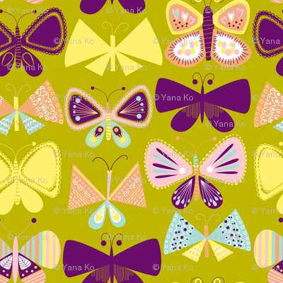 Simply Butterflies second print