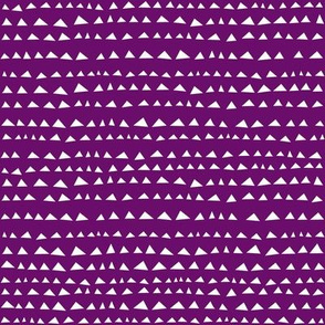Little Triangle Purple