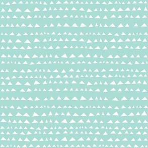 Little Triangle Baby Blue