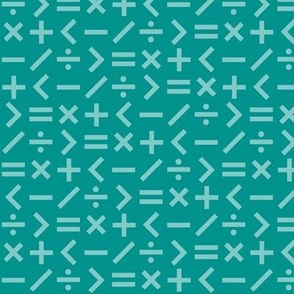 Calculation Simple Teal (Elementary)