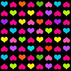 Plenty Of Hearts Multi Black
