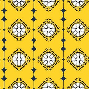 Moorish Windows - Lemon