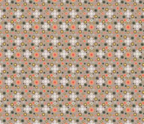 Muted Jewels fabric by asouthernladysdesigns on Spoonflower - custom fabric