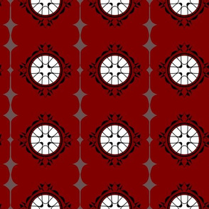 Moorish Windows - Red