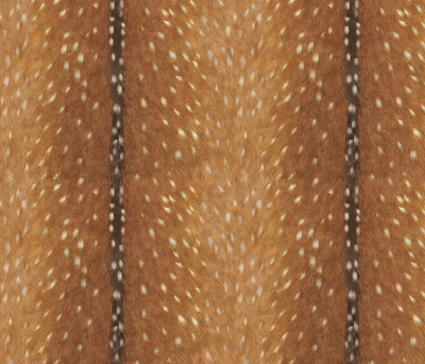 Deer Hide in Spring Fawn fabric by willowlanetextiles on Spoonflower - custom fabric