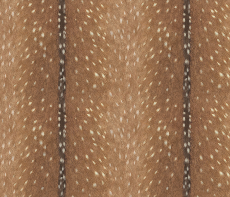 Deer Hide Fabric and Wallpaper fabric by willowlanetextiles on Spoonflower - custom fabric