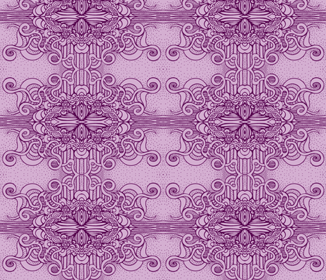 Patty's Purple Too fabric by rberlin on Spoonflower - custom fabric