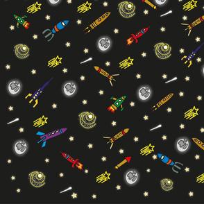 Rockets_in_the_night_sky