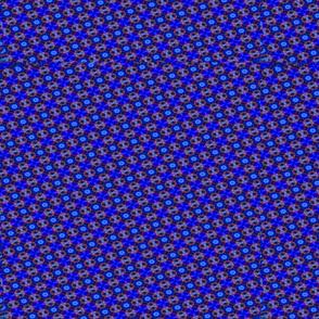 Royal Blue dots