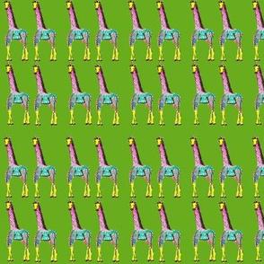 giraffes_light_green