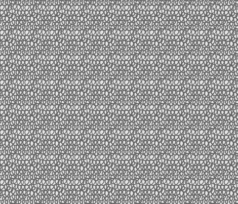 Gray Curls fabric by leanne on Spoonflower - custom fabric