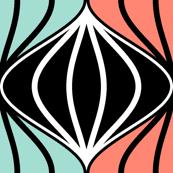 zigzag stripe pods