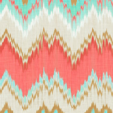 Image Result For Ikat Fabric Coral