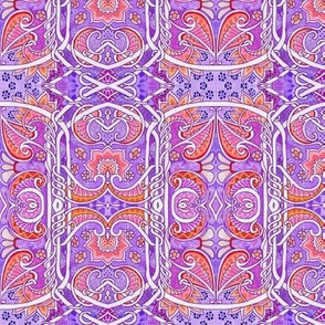 Red and Purple Paisley Conspiracy