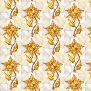 Sheet Metal Floral Love Token