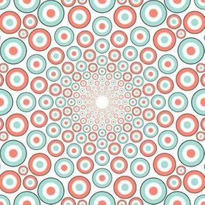 03890146 : mandala 12 : coral mint mods