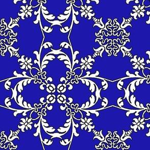 Summertime Flourish Blue