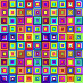 Modern Retro Squares