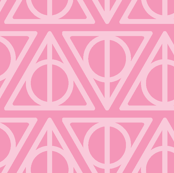 Pastel Potter - Pink Deathly Hallows