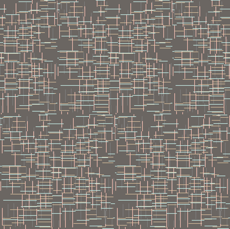 Lines on Dark Gray fabric by sewininthewind on Spoonflower - custom fabric