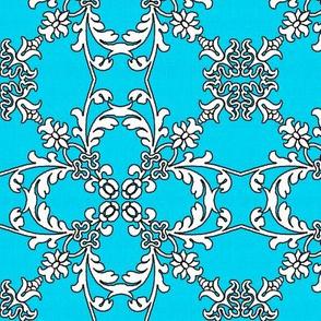 Summertime Flourish Turquoise