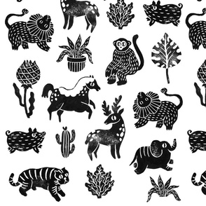 Aitch's Animal Stamps