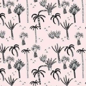 palm tree jungle pink - elvelyckan