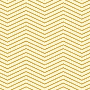 Art Deco Chevron, Gold