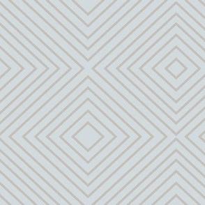 Squares - Blue Gray