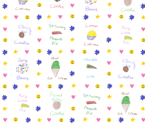 Chickie's Just Desserts fabric by weavingmajor on Spoonflower - custom fabric