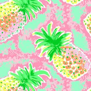Pineapple in Pastel