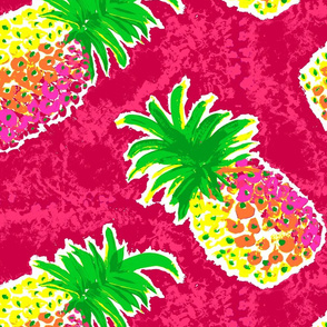 Pineapple in Pink