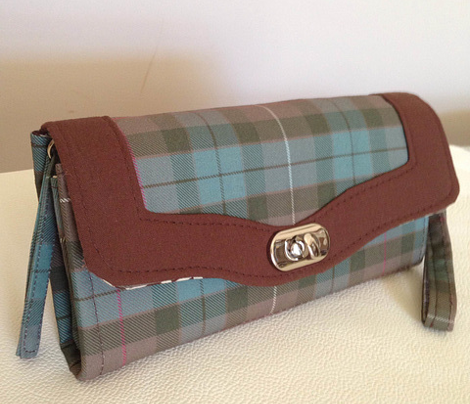 Fraser Hunting weathered tartan, 6""