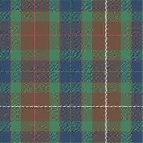 Fraser modern hunting tartan