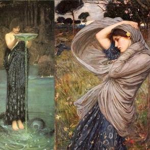 Pre-Raphaelite style