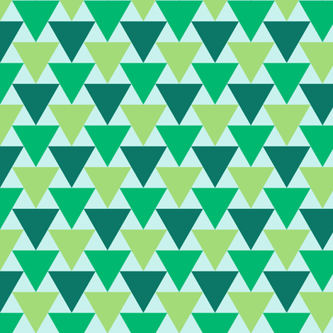 triangle 2:1 x3 - serene fabric by sef on Spoonflower - custom fabric