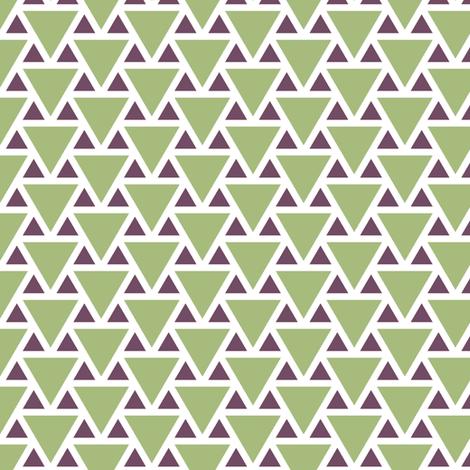 triangle 2:1 - geometric fabric by sef on Spoonflower - custom fabric