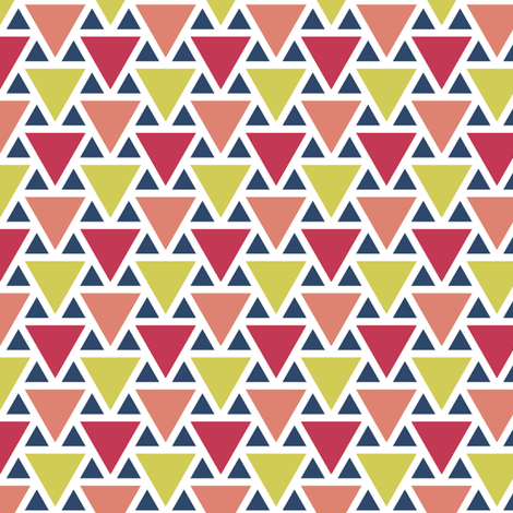 triangle 2:1 - matisse fabric by sef on Spoonflower - custom fabric