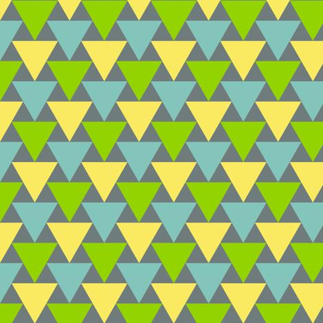 triangle 2:1 - flights of fancy fabric by sef on Spoonflower - custom fabric
