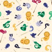 Baby Wizard Animals - Lumos