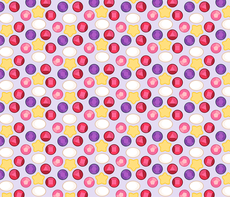 We are the Crystal Gems fabric by mad_eeker on Spoonflower - custom fabric