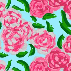 Rose Garden in Pink