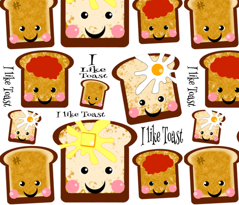 I like Toast fabric by shellypint on Spoonflower - custom fabric