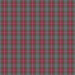 1/3 scale Fraser red weathered tartan