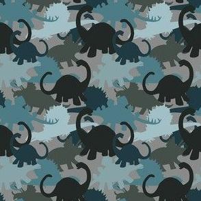 Tiny Camouflage Dino Design